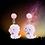 Thumbnail: Baby Pink Dragon Earrings