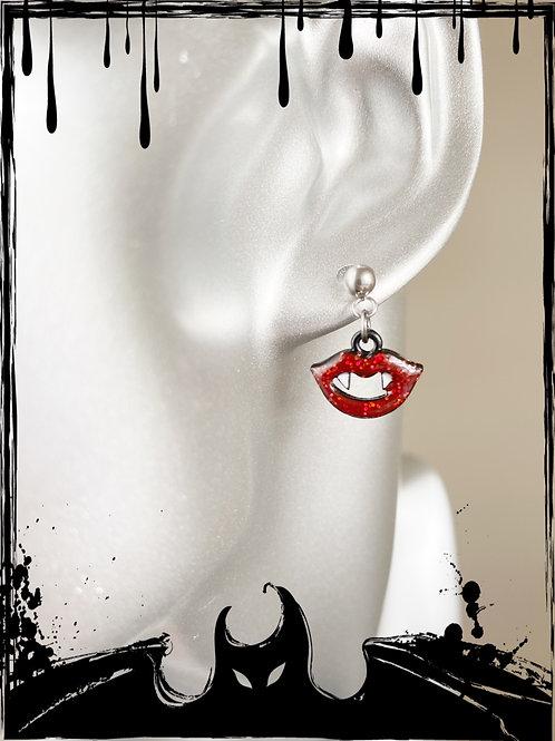 Horror Glam Fangs Earrings