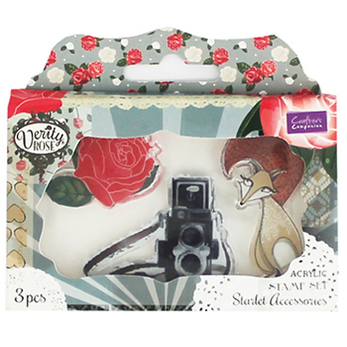 Starlet Accessories Acrylic Stamp Set