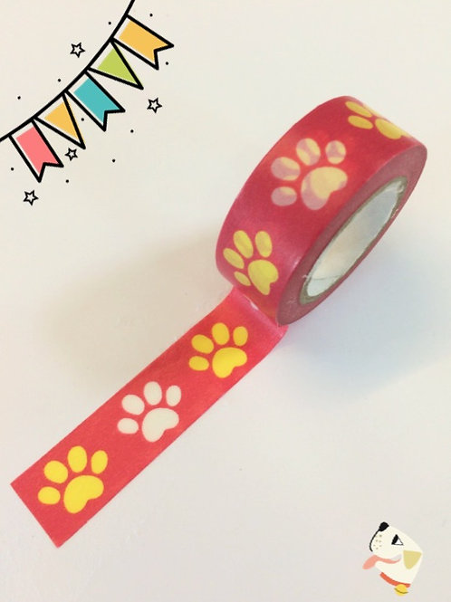 Dovecraft Washi Tape - Paw Prints
