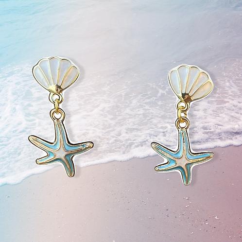 Stunning Starfish Earrings