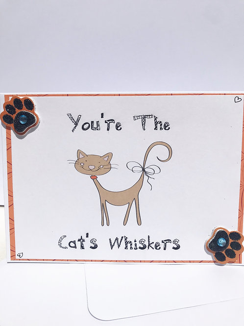 Cat's Whiskers - card