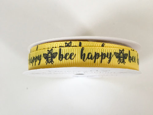 Dovecraft Bee Happy Ribbon