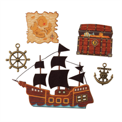 Trimits - Pirate Ship Embellishments
