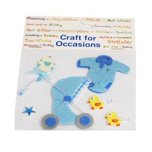 Blue Baby Embellishments