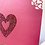 Thumbnail: Red Glitter Heart - Valentine's Card