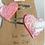 Thumbnail: Glitter Heart Hair Clips