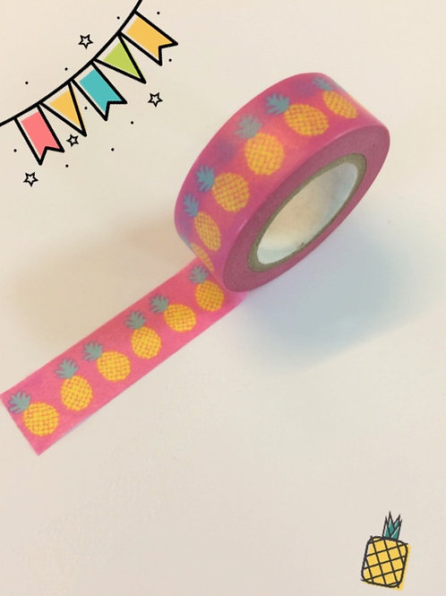 Dovecraft Washi Tape - Pineapple