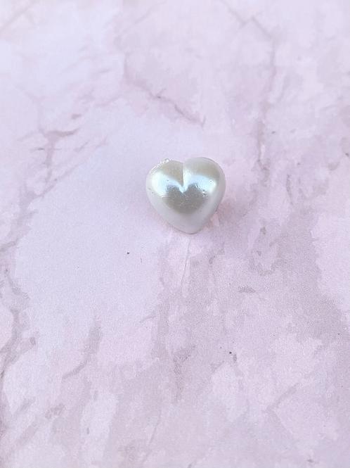 Small Heart Pin Badge - Silver