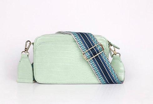 CRAZY Lou , sac Lécita, vert d'eau