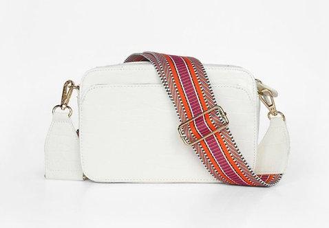CRAZY Lou , sac Lécita, blanc