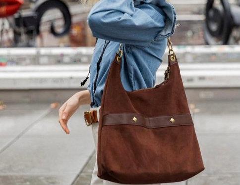 SABRINA paris, sac Diane, chocolat