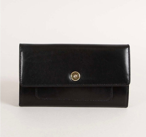 SABRINA paris, portefeuilles Albertine, noir