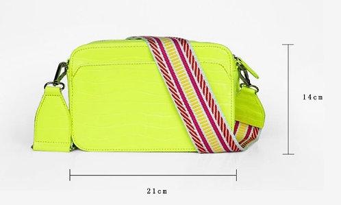 CRAZY Lou , sac Lécita, néon jaune