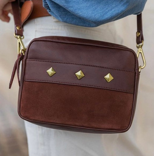SABRINA paris, sac Connie, chocolat