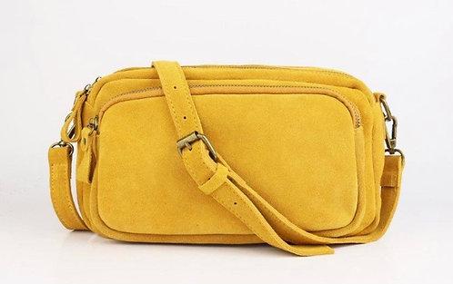 CRAZY LOU, sac Célia, jaune
