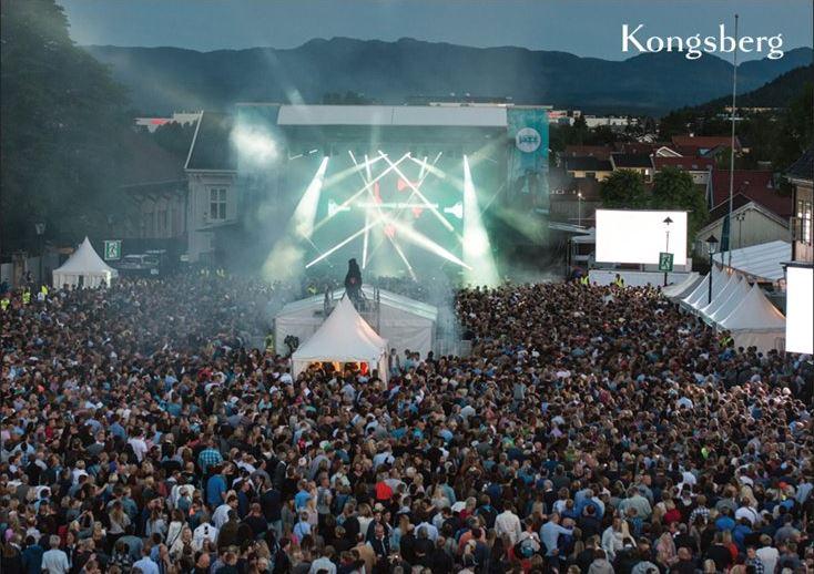 A6-postkort Kongsberg Jazzfestival - Var