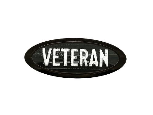 Veteran 3D Overlay Emblem Ford Oval F150 Emblem