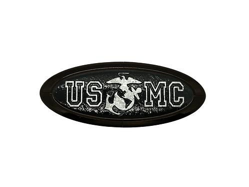 USMC 3D Overlay Emblem Ford Oval F150 Emblem