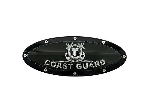 "Coast Guard Elite Emblem Ford Oval F150 2015 - 2021 9.5"" Emblems"
