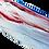 """Thumbnail: TieDye US Flag Elite Emblem Ford Oval F150 2015 - 2021 9.5"""" Emblems"""