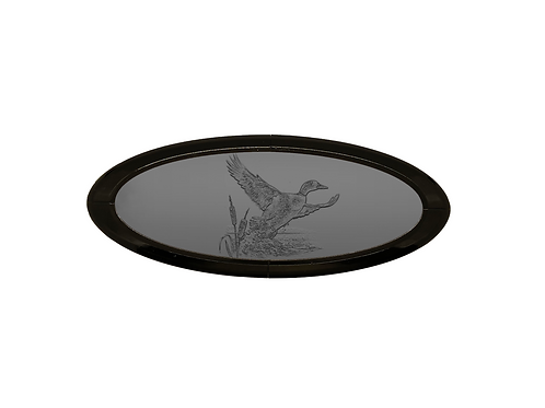 Duck Scene 3D Overlay Emblem Ford Oval F150 Emblem