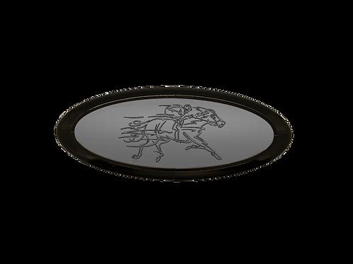 Racehorse 3D Overlay Emblem Ford Oval F150 Emblem