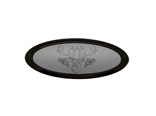 Hunt'n Fish'n 3D Overlay Emblem Ford Oval F150 Emblem