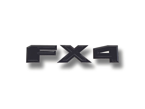 """FX4 3D Truck Emblems, 3"""" Tall, Fits Any Ford Truck"""