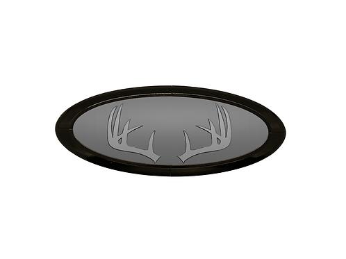 Antlers 3D Overlay Emblem Ford Oval F150 Emblem