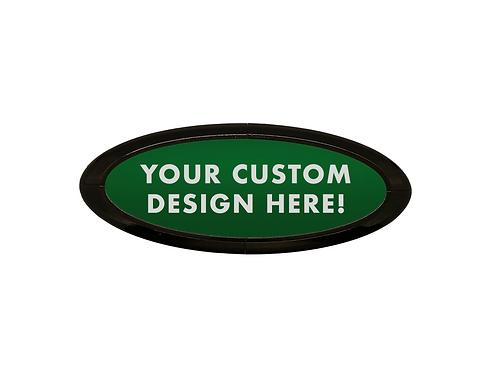 Custom Design 3D Overlay Emblem Ford Oval F150 Emblem