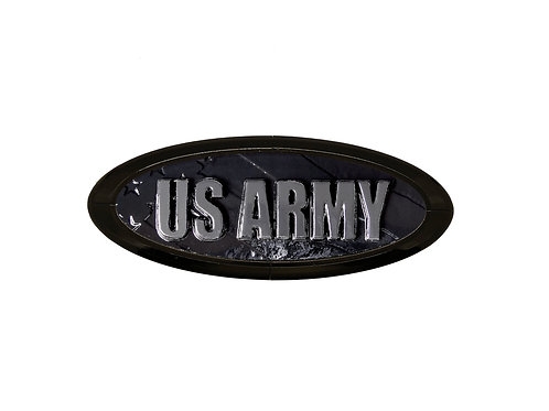 Army 3D Overlay Emblem Ford Oval F150 Emblem