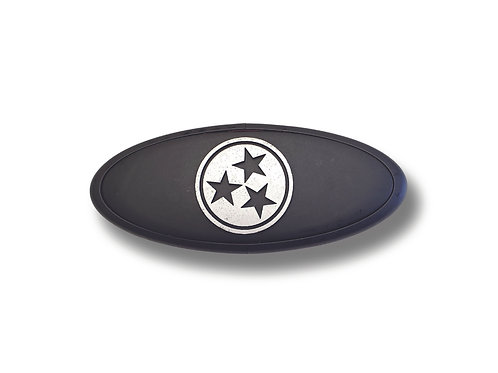 Tennessee Tri Star 3D Overlay Emblem Ford Oval F150