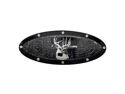 "Buck In Woods Elite Emblem Ford Oval F150 2015 - 2021 9.5"" Emblems"