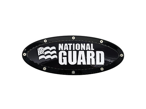 """National Guard Elite Emblem Ford Oval F150 2015 - 2021 9.5"""" Emblems"""