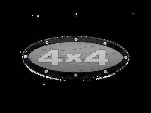 "4x4 US Flag Elite Emblem Ford Oval F150 2015 - 2021 9.5"" Emblems"