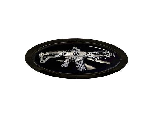AR15 3D Overlay Emblem Ford Oval F150 Emblem