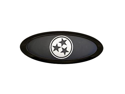 Tennessee TriStar 3D Overlay Emblem Ford Oval F150 Emblem