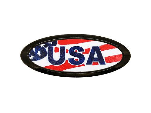USA 3D Overlay Emblem Ford Oval F150 Emblem