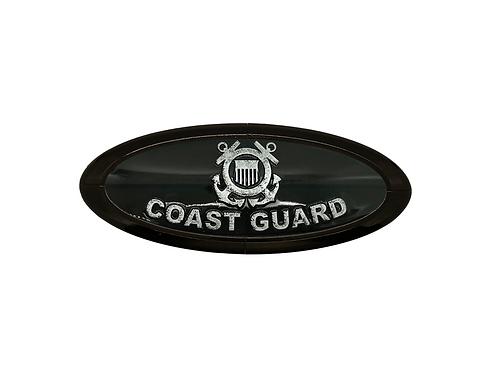 Coast Guard 3D Overlay Emblem Ford Oval F150 Emblem