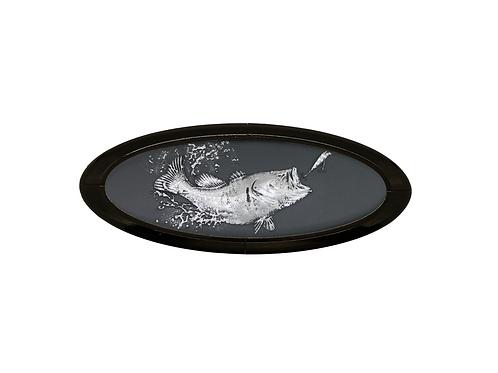 The Bass 3D Overlay Emblem Ford Oval F150 Emblem