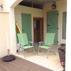 sauna en zwemspa bij ons vakantiehuis in frankrijk