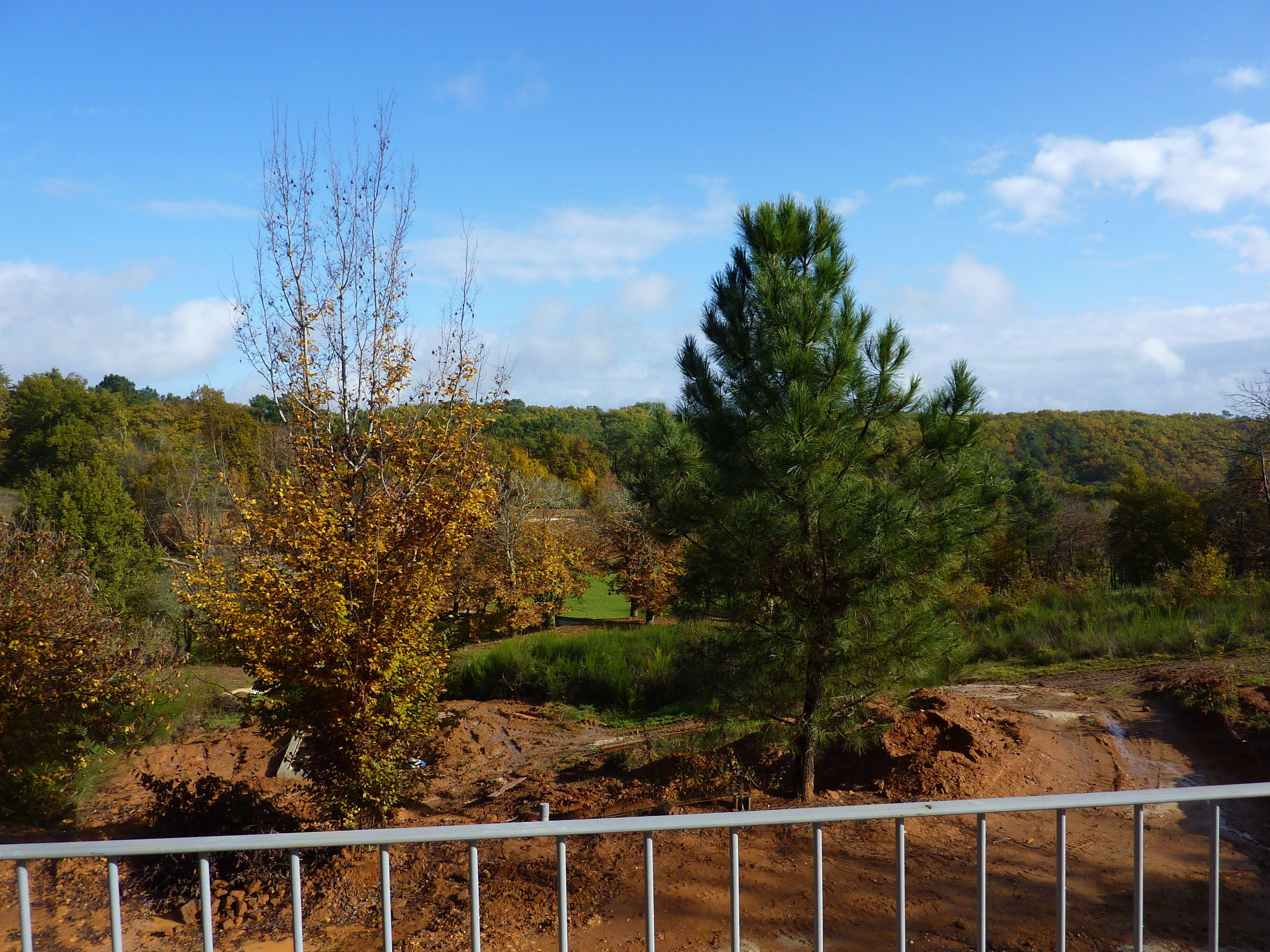 uitzicht van terras