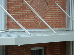 Overhead Canopy Clear Anodized Abner's