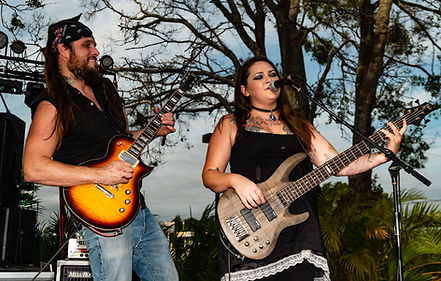 Tony and Amberle Madden rockin' out at Niagara Tap's Tapfest3! Photo by James Jr. Swenson