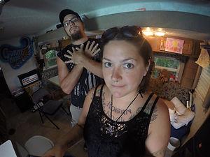 Tony and Amberle chillin'