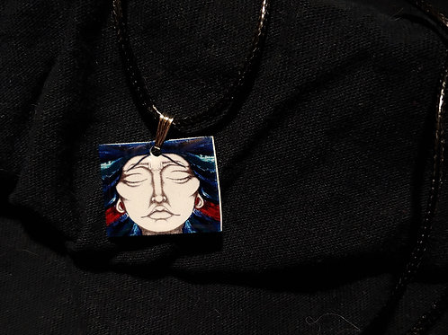 Full Face ALL IN Lady Necklace