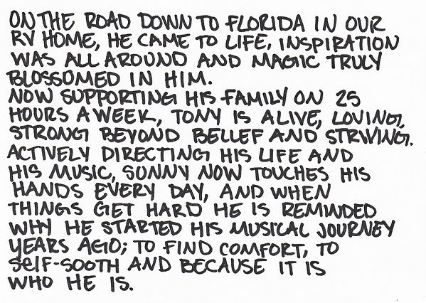 About Tony Madden of Comin' Home The Band