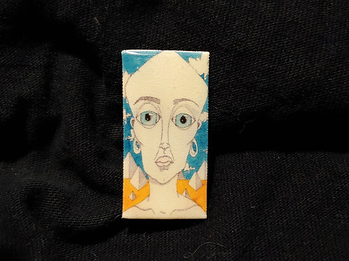 Pyramid Head Pin