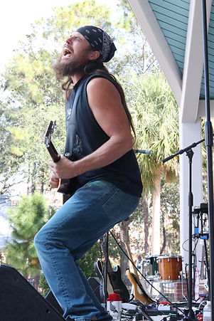 Tony Rockin' out at Saturday in the park in Tampa, FL